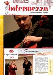 2010 - in der Musikschule  Hildesheim