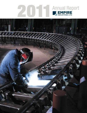 2011 Annual Report - Empire Industries