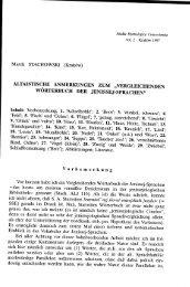 """""""Vergleichenden Wörterbuch der Jenissej-Sprachen""""."""