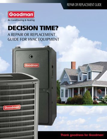 DECISION TIME? - Goodman