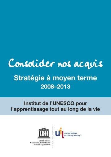 L'apprentissage tout au long de la vie et l'UNESCO