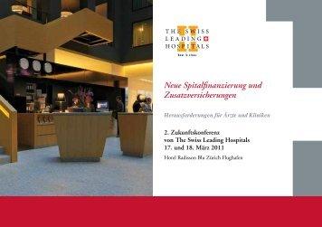 Neue Spitalfinanzierung und Zusatzversicherungen - Hplus