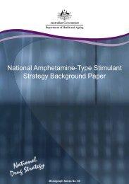 National Amphetamine-Type Stimulant Strategy Background Paper