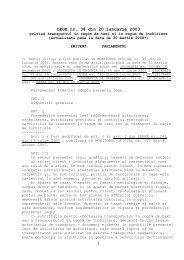 LEGE nr. 38 din 20 ianuarie 2003 - Ploiesti.ro