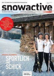 Ausgabe Februar 2014 > Download - Snowactive