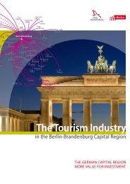 The Tourism Industry in Berlin - Brandenburg.de