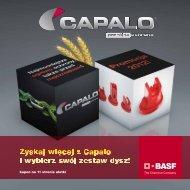 Ulotka produktowa Capalo - BASF Polska