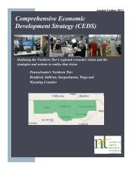 CEDS - Northern Tier Regional Planning and Development ...
