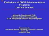 R T C - UCLA Integrated Substance Abuse Programs