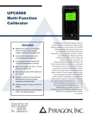 UPC8888 Multi-Function Calibrator