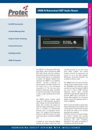Audio Routers - Protec Fire Detection