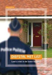 DIEFSTAL MET LIST - Algemene Directie Veiligheid en Preventie