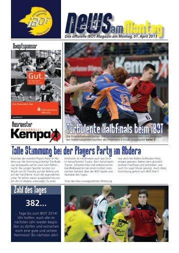 newsamMontag - Internationales Biberach OsterTurnier