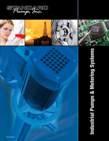 Industrial Pumps & Metering Systems - Consolidated Pumps
