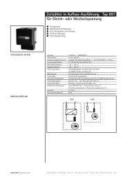 Hengstler 0891.5..-DIN-Schiene - Schlaps GmbH