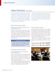 Labor Practices Basic Policy - Takeda