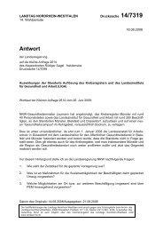 Kleine Anfrage - Sagel, Rüdiger (Die Linke)
