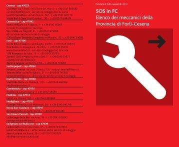 SOS in FC Elenco dei meccanici della Provincia di Forlì ... - Il Club