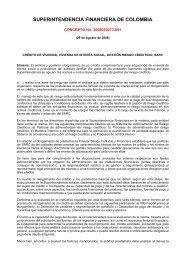 SUPERINTENDENCIA FINANCIERA DE COLOMBIA - Camacol