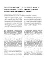 Identification, Prevention and Treatment: A Review of Individual ...