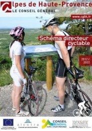 Schéma directeur cyclable 2012-2022 - Alpes-de-Haute-Provence