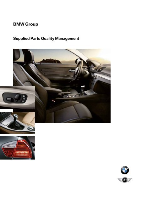 Supplied Parts Quality Management Browser Settings Test For The