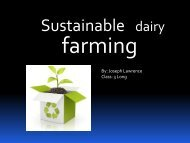 Sustainable dairy farming - DairyTas