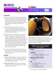 DESCRIPTION - Electronic Fasteners Inc