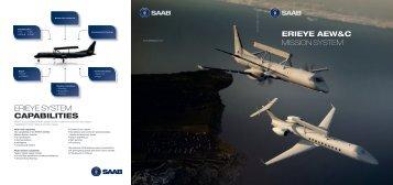 ERIEYE AEW&C folder - Saab