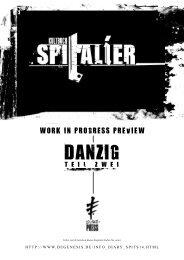 KULTBUCH: Spitalier - Danzig Teil 2 - Degenesis