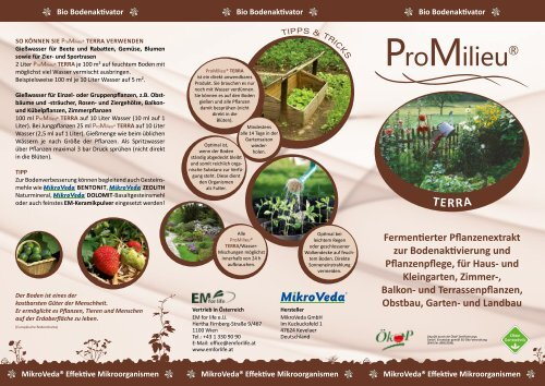 ProMilieu® - EM for life