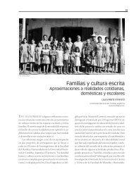 Familias y cultura escrita Aproximaciones a realidades ... - Crefal