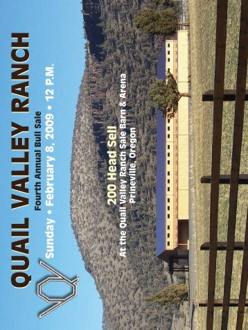 Quail Valley RanchQuail Valley Ranch - Angus Journal