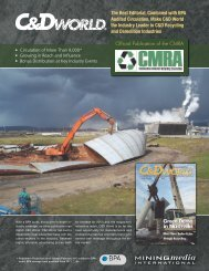 The Best Editorial, Combined with BPA Audited ... - Mining Media