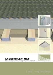Akoestiplex® MXT Profielsysteem voor hellende daken, gevels ...
