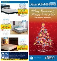 Merry Christmas & Happy New Year - Diners Club Malaysia