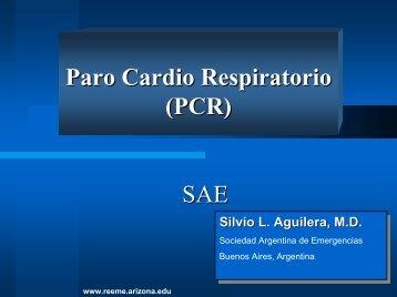 SAE Paro Cardio Respiratorio (PCR) - Reeme.arizona.edu