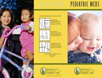 PEDIATRIC MEDS - NWPC.com