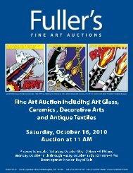 American, 20th Century - Fuller's Fine Art Auctions