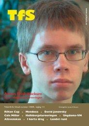 Nummer 1/2005 - Sveriges Schackförbund