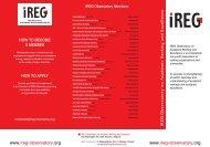 IREG leaflet - International Observatory on Academic Ranking and ...
