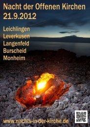 Nacht der Offenen Kirchen 21.9.2012 - Nachts in der Kirche
