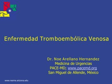 Tromboemolica Venosa - Reeme.arizona.edu