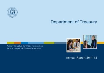 Department of Treasury Annual Report 2011-12