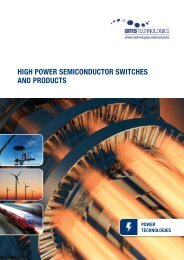 high power semiconductor switches and products - AMS Technologies