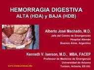 Hemorragia Digestiva Alta (HDA) Y Baja - Reeme.arizona.edu