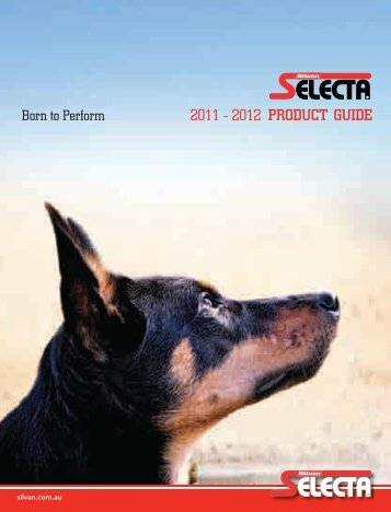 2011 - 2012 PRODUCT GUIDE - Silvan Australia