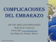 COMPLICACIONES DEL EMBARAZO - Reeme.arizona.edu