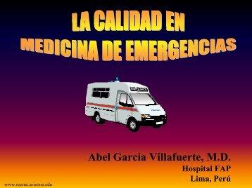calidad en emergencia - Reeme.arizona.edu