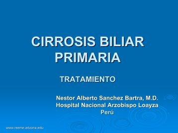 CIRROSIS BILIAR PRIMARIA - Reeme.arizona.edu